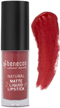 Benecos Liquid Lipstick matt trust in rust 5ml