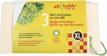 Bio Baumwollbeutel mit Zugband
