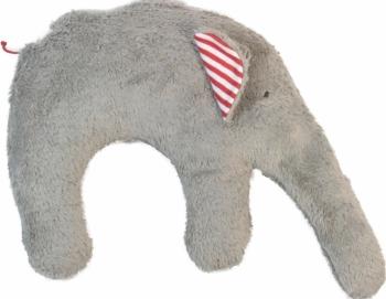 Bio Nackenkissen Elefant grau - Hirsespelzkissen