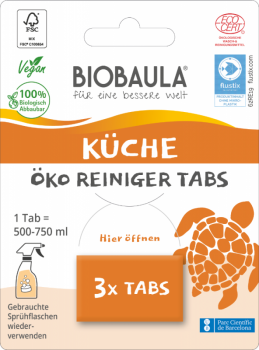 Biobaula Küchenreiniger Tabs 3 Stück