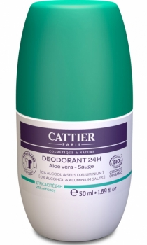 Cattier 24h Deo roll on 50ml