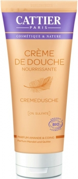 Cattier Cremedusche Mandel & Quitte 200ml