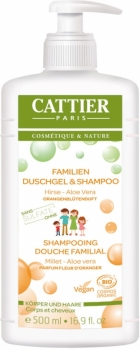 Cattier Familien Duschgel & Shampoo Orange 500ml