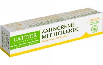 Cattier Heilerde Zahncreme Zitrone 75ml
