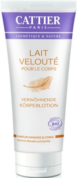 Cattier Körperlotion Mandel & Quitte 200ml