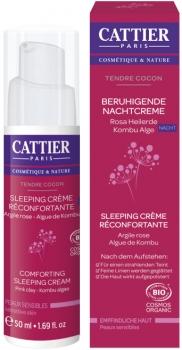 Cattier Nachtcreme mit rosa Heilerde 50ml