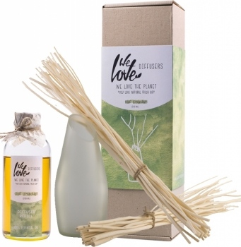 Diffuser Vase Light Lemongrass 200ml