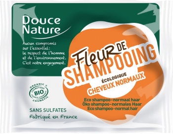 Douce Nature festes Shampoo | normales Haar 85g