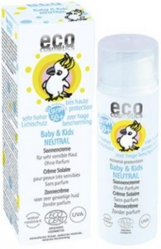 Eco Baby Kinder Sonnencreme LSF 50+ neutral - 50ml