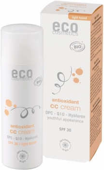 Eco CC Cream LSF30 getönt hell 50ml