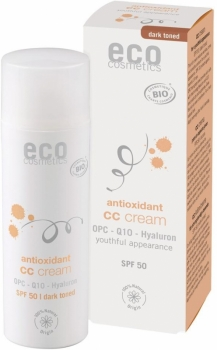 Eco CC Cream LSF50 getönt dunkel 50ml