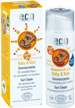 Eco Baby Kinder Sonnencreme LSF 45 - 50ml