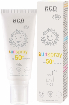 Eco Kids Sonnenspray sensitive LSF50+ - 100ml