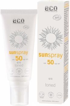 Eco Sonnenspray getönt LSF50 - 100ml