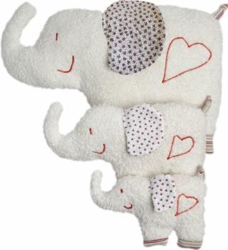 Bio Kuschel Kissen Elefant