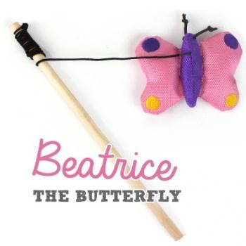 Beco Katzenangel Schmetterling