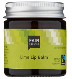 Fair Squared Lip Balm Lime 20ml