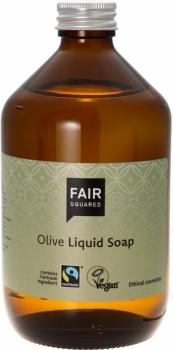 Fair Squared Flüssigseife Olive 500ml