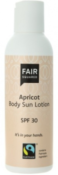 Fair Squared Sun Lotion LSF 30 Aprikose 150ml