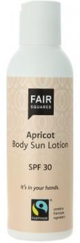 Fair Squared Sun Lotion LSF 30 Aprikose 150ml
