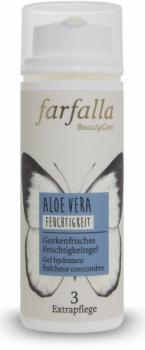 Farfalla Aloe Vera gurkenfrisches Feuchtigkeitsfluid 50ml