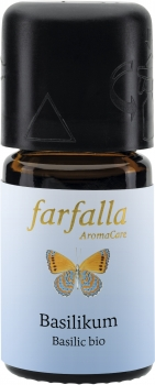 Farfalla Basilikum bio | Grand Cru 5ml