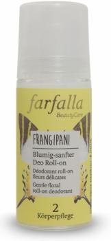 Farfalla Deo roll on Frangipani 50ml