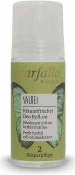 Farfalla Deo roll on Salbei 50ml