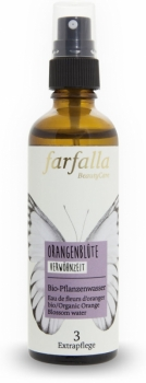 Farfalla Hydrolat Orangenblütenwasser 75ml