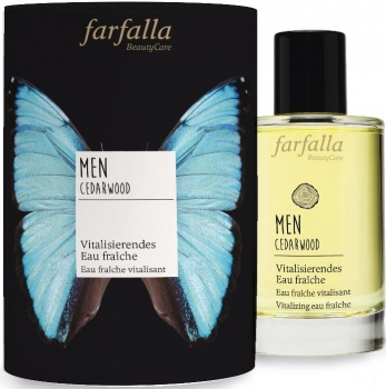 Farfalla Men Eau Fraiche Cedarwood | Herrenduft 100ml