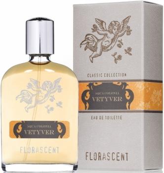 Florascent Eau de Toilette Vetyver - Männer Duft Colonia 30ml