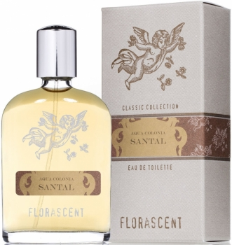 Florascent Eau de Toilette Santal - Herren Duft Cologne 30ml