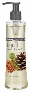 Sodasan Flüssigseife Herbal Sandal 250ml