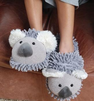Lustige Pantoffeln Koala - Hauspantoffeln
