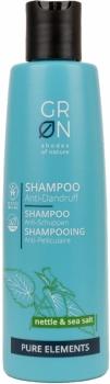 Grön Anti Schuppen Shampoo | Pure Elements 250ml