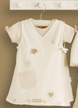 Babykleidchen und Body im Set 3-6m