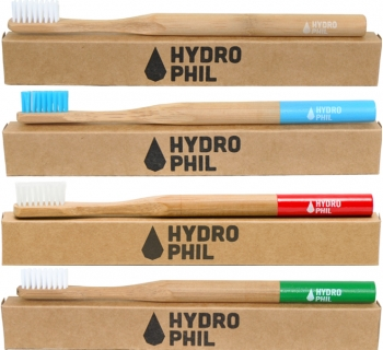 Hydrophil Bambus Zahnbürste medium