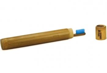 Hydrophil Zahnbürstenetui Bambus