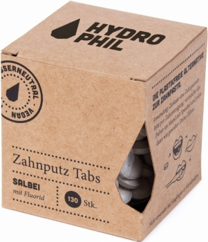 Hydrophil Zahnputz Tabs Salbei