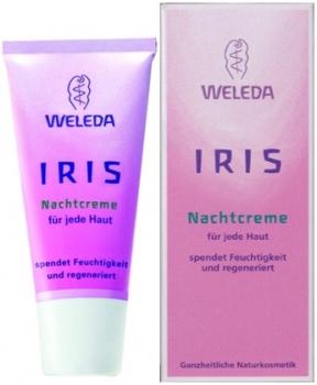 Weleda Iris erfrischende Nachtpflege - Nachtcreme 30ml