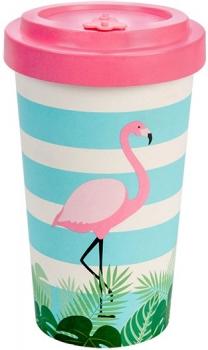 Kaffee To Go Becher Flamingo