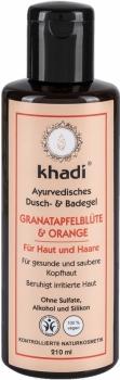 Khadi Dusch & Badegel Granatapfel Orange 210ml