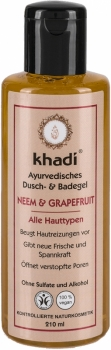 Khadi Dusch & Badegel Neem Grapefruit 210ml