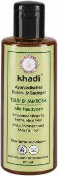 Khadi Dusch & Badegel Tulsi Jamrosa 210ml