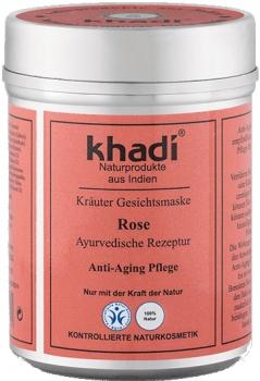 Khadi Gesichtsmaske Rose 50g