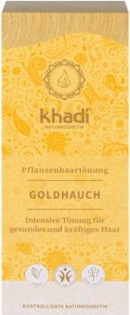 Khadi Pflanzenhaarfarbe Goldhauch 100g