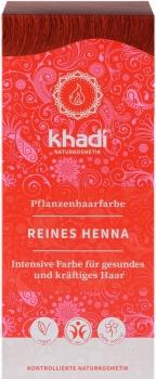 Khadi Pflanzenhaarfarbe Henna Rot 100g