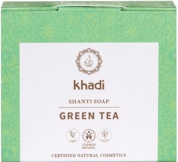 Khadi Shanti Seife Green Tea 100g