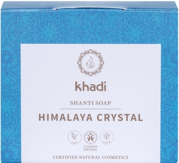 Khadi Shanti Seife Himalaya Crystal 100g