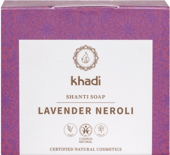 Khadi Shanti Seife Lavender Neroli 100g